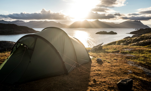 midnight sun camping