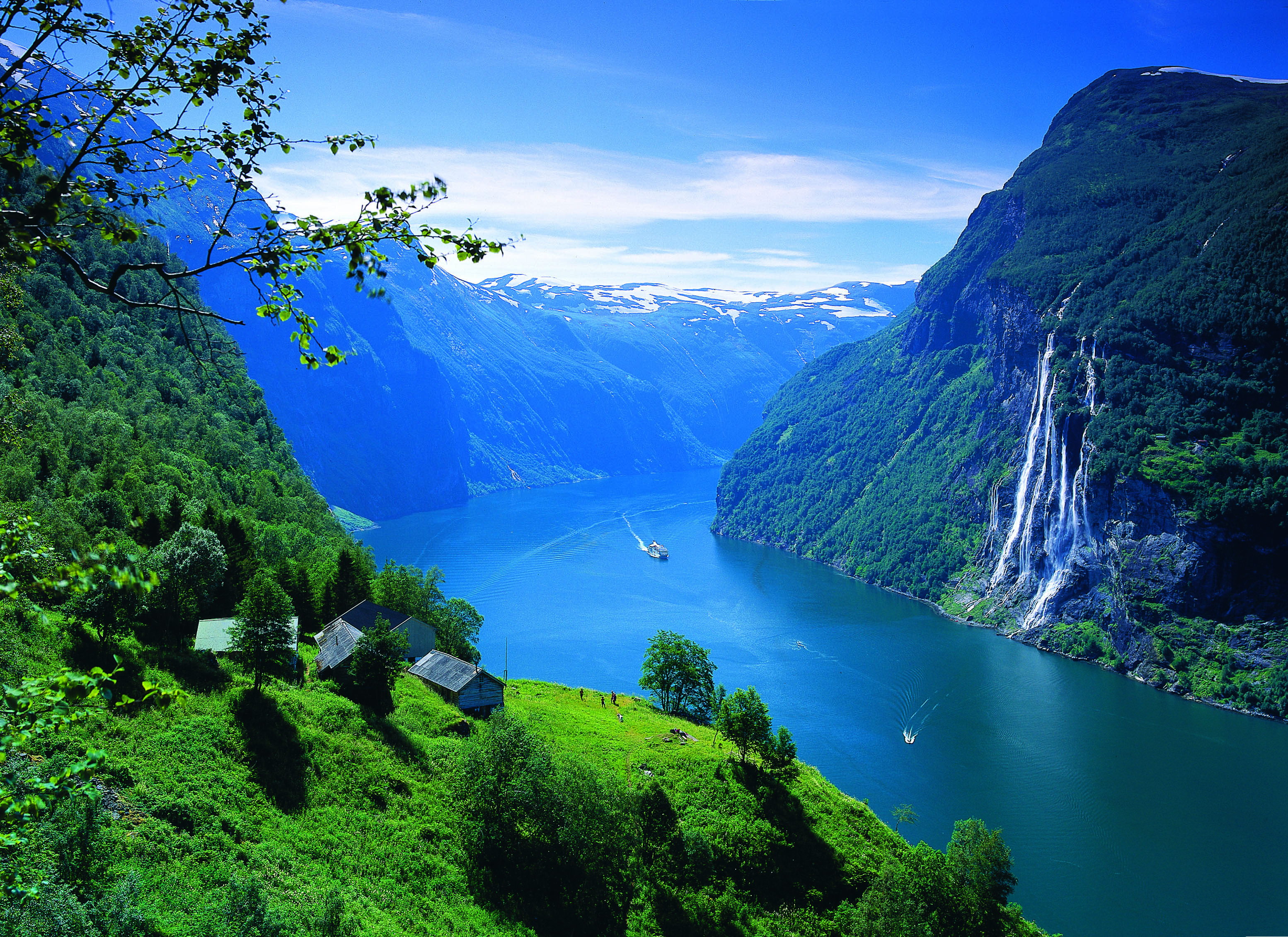The Geirangerfjord in Norway - Fjord Tours